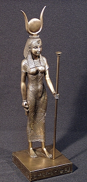 9 - alien goddess Hathor of Egypt, Ninhursag in Mesopotamia