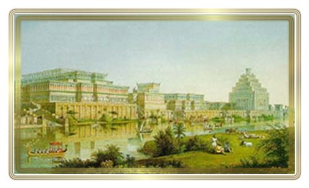 9a - Babylon, Marduk's godly city, one of the main cities on Earth at that time