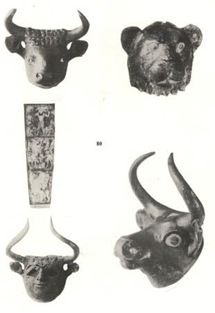 9a - artefacts from Nannar's city of Ur, a city lasting thousands of years with many different kings, of which most of the early ones were mixed-breed sons of the gods