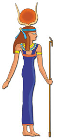 9b - Egyptian goddess Hathor - Ninhursag, well known & worshipped in Marduk's Egypt, Marduk's aunt