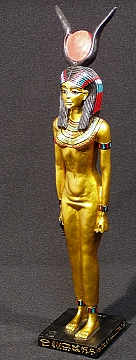 9d - golden Hathor - Ninhursag of Egypt