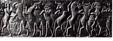 primitive earthlings relationship with wild animals in the Eden - Fertile Lands Between the Rivers Euphrates & Tigris- Mesopotamia
