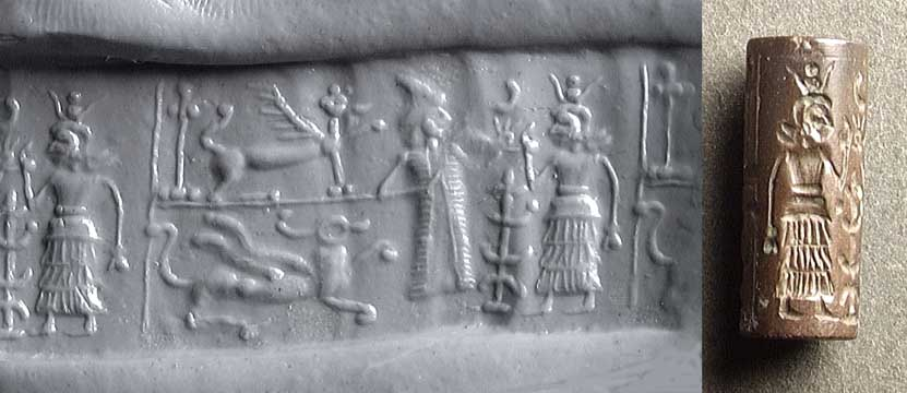 Ninurta, Inanna, & their animal symbols - zodiac symbols, their extensive use of Earth's animals by those who came down