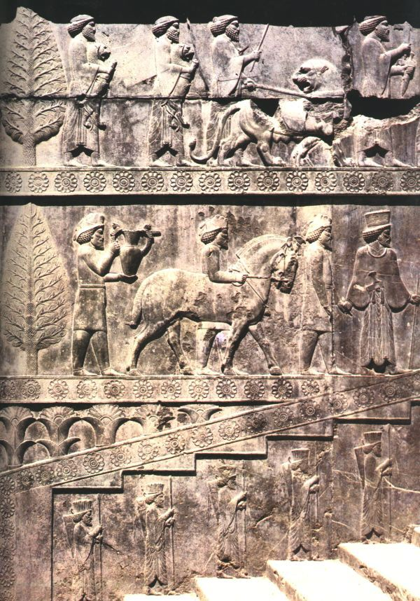 man & beast, ancient beast of burden ancient artefact, lions were the most depicted dangerous beast in the region