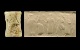 """bio-engineering - Enki DNA experimenting in the Abzu, Enki & Ninhursag do many DNA experiments in the Abzu with man & animals, trying to create """"workers"""" to replace the rebelling alien Anunnaki workers"""