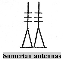 Mesopotamian communication towers, Enlil kept in touch with his father King Anu back home on Nibiru