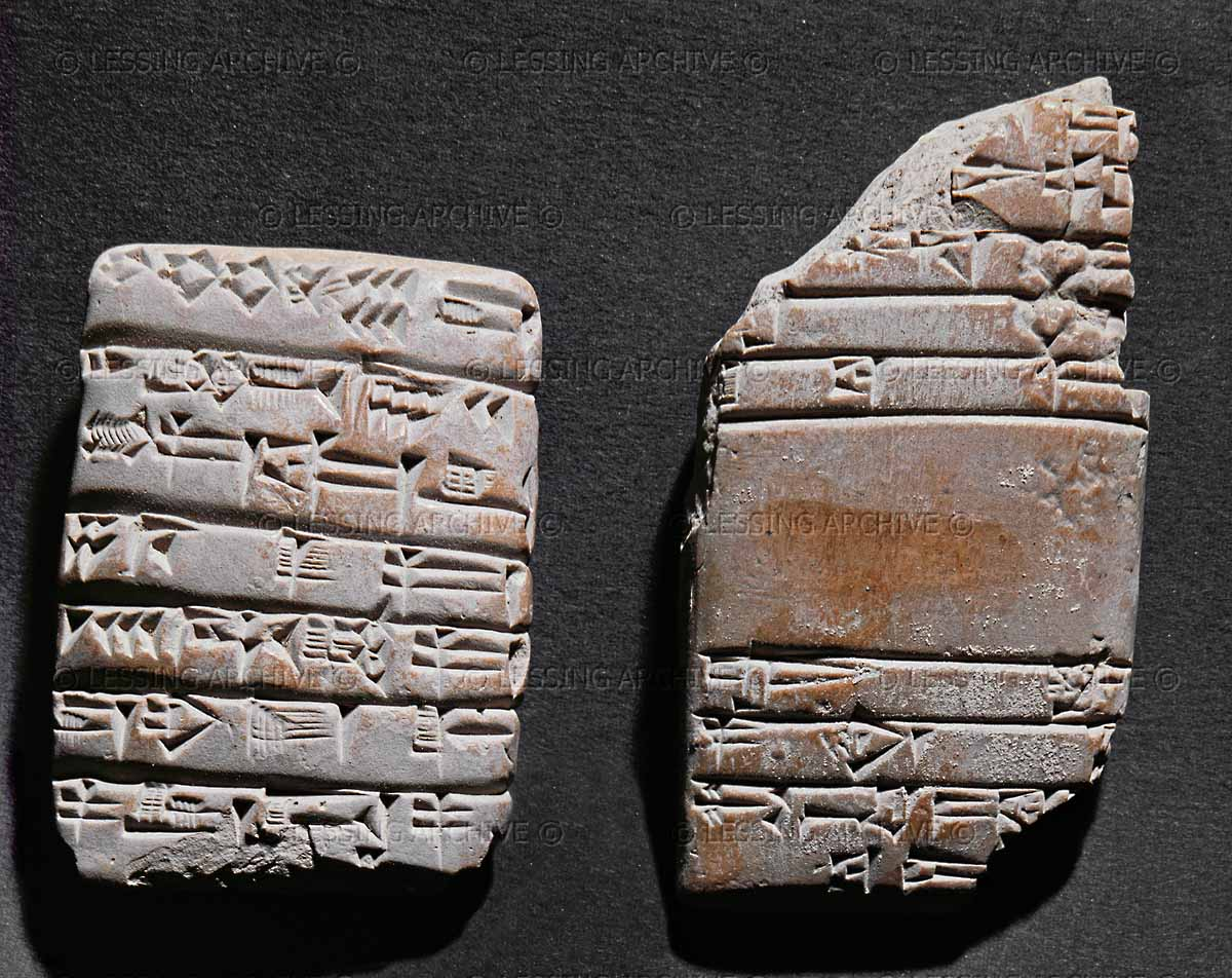 ancient artefact of harvest record. yield of barley, wheat, and buckwheat, from the alien gods in Mesopotamia,  from the reign of giant mixed-breed made king Gudea of Lagash, SEE THE 1ST FARMING TEXTS BELOW, & ON ENLIL'S PAGE UNDER NISABA, ENLIL'S MOTHER-IN-LAW & GODDESS OF GRAIN