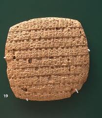 ancient Mesopotamian text of barley rationing, after earthlings began the replacement of the alien gods working in the Eden