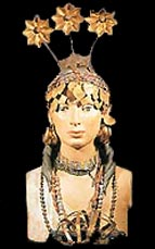 Sumerian model of a woman & how she might have looked way back then