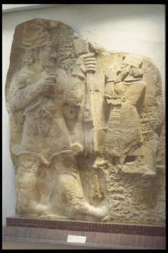 alien giant god Adad - Teshub & unidentified Hittite king, artefacts of the alien gods & their giant mixed-breed offspring made kings, are shamefully being destroyed by Radical Islam, fearing ancient knowledge would destroy the power-brokers hold over their unknowing followers