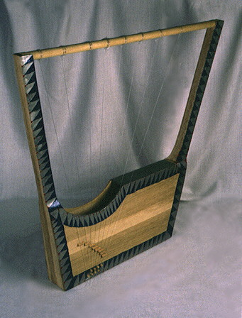 Mesopotamian lyre, music introduced to the earthlings by the giant alien gods