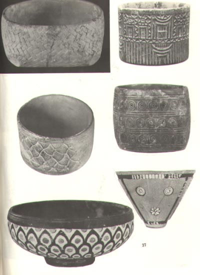 Sumerian geometrically designed bowls from 3,000 + B.C., a necessity of ancient civilizations, a learned skill from the gods