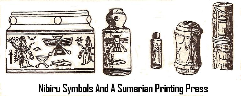 Sumerian Printing Press, 1st on Earth of its kind, knowledge taught to the earthlings by the alien gods
