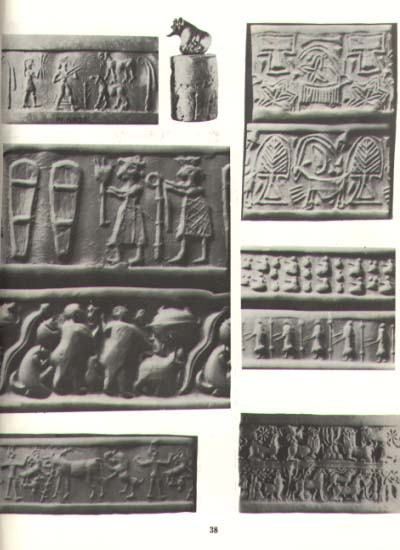 3,000 B.C. Sumerian cylinder seal artefacts, artefacts of the alien gods are shamefully being destroyed by Radical Islam, attempting to eliminate ancient knowledge, evidence that directly contradicts the 7th century A.D. doctrines of Islam