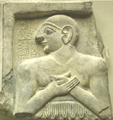 early mixed-breed high-priest of the alien gods in Mesopotamia, religion, devotion to gods, the creation of high-priests & high-priestesses, advisors to kings, all came to power by way of the giant alien gods