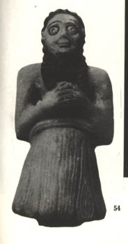 Mesopotamian male worshipper, devotion to gods, the creation of high-priests & high-priestesses, advisors to kings, all came to power by way of the giant alien gods
