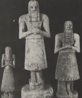 worshippers in Sumer, devotion to gods, the creation of high-priests & high-priestesses, advisors to kings, all came to power by way of the giant alien gods