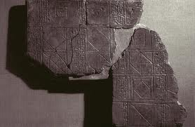 ancient Kish artefacts of geometry tablets