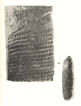"Sumerian algebraic geometry tablet, ""similar to Euclid's theory"""