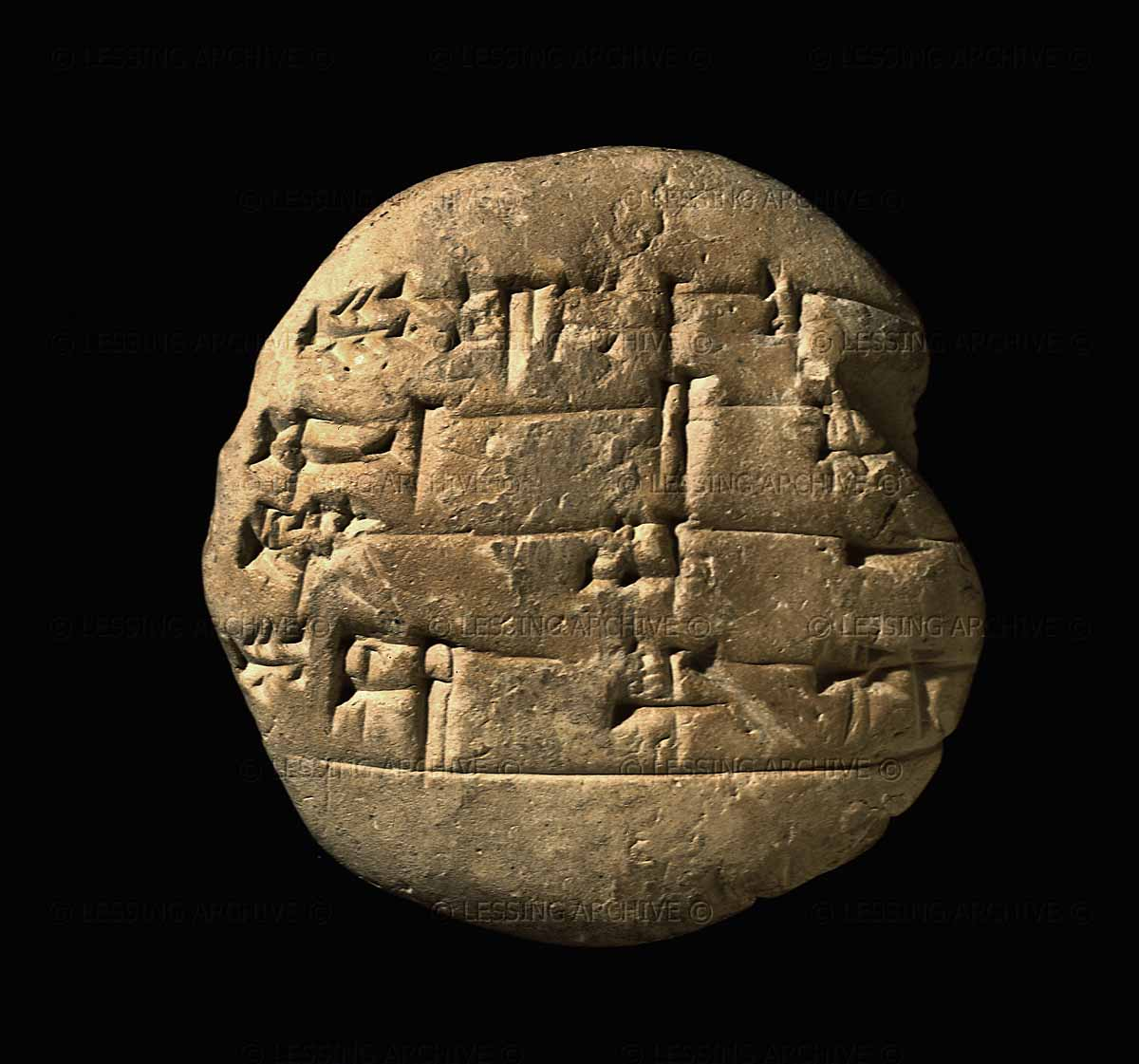 "the making of a scribe, tablet with schoolwork, Old Babylonian artefact, probably from southern Iraq, 1900-1700 B.C., schooling began at an early age in the ""tablet-house"" under an older student called ""big brother"", after completing their training, students became entitled to call themselves ""scribes"""