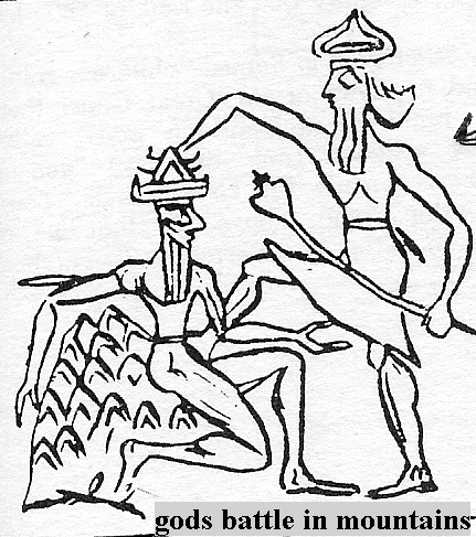 princes Alalu & Anu, Sumerian alien gods wrestle for the claim to kingship, SEE ALALU PAGE