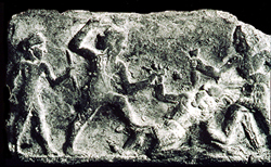 hand-to-hand combat in Mesopotamia