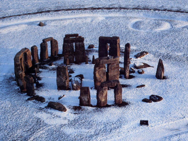 3a - Stonehenge, sky clock built by the giant alien gods who came down, & colonized Earth