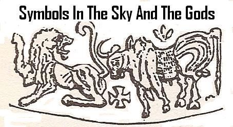 4f - Sky Symbols with the Nibiru Cross, the planet that crosses by the outside of Mars appx. every 3,600 years