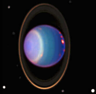 #3 star in our solar system, Uranus / Anu, discovered in 1781, named after Anu