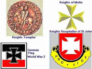 5a - Croix de Malte, or Nibiru Cross symbol used throughout time by power-broker secret societies united in each country