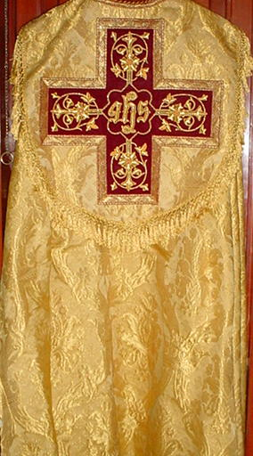 vestment of those honoring the alien gods of Mesopotamia