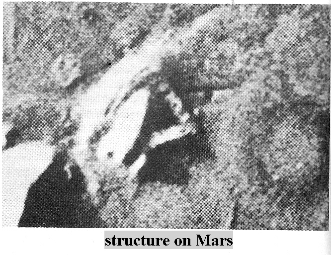 pyramid structure on Mars, evidence of the Anunnaki way-station they built on Mars