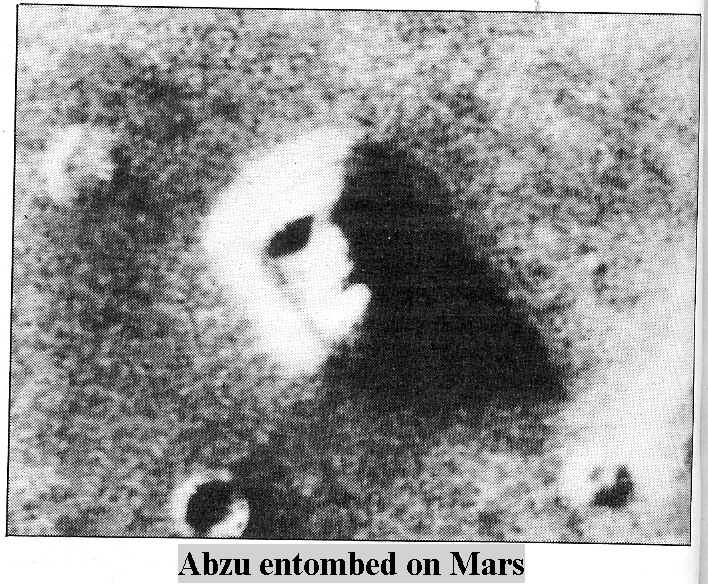 8b - Nibiru  king Alalu entombed on Mars, evidence of the Anunnaki way-station they built on Mars, a much easier way to reach Nibiru with cargo from Mars, instead of from Earth