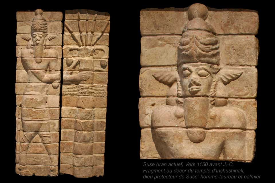 2e - Enlil, main god & heir under father Anu , Enlil on city wall, responsible for the settlement of the 1st cities on Earth, Commander of Earth Colony even though he was younger than his 1/2 brother Enki, & although brilliant, not as wise, later on causing descent amonst their descendants