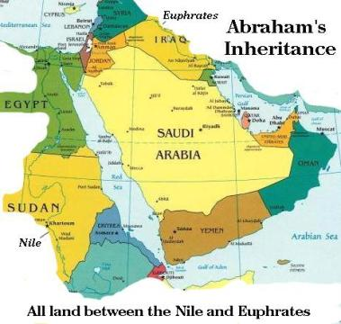 6d - Abraham's Promised Empire, to be established by the gods & their mixed-breed offspring, they were bigger, stronger, smarter, & lived a lot longer than the others, the mixed-breed advantage of long-life caused them to inter-marry, (ex: brother & 1/2 sister) so their offspring also had advantages, thus Adam to Noah, & Noah to Abraham, did the exact same thing, living longer than others as mixed-breed leaders