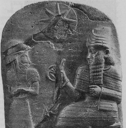 "10a - Babylonian artefact of Marduk & Babylonian King Hammurabi, historical evidence of the alien giant gods appointing giant offspring to become great kings of great city-states, etc., when the sons of god(s) had sex with the daughters of men, their offspring were the Biblical ""Heroes of old, men of renown"", ""mighty men"", mixed-breed sons who were bigger, faster, stronger, smarter, etc. than earthlings, appointed to authority  positions as a go-between for gods & earthlings"