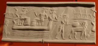 6fa - Enki with a couple of sons in the Abzu, Enki's domain south of Eden, artefacts of the giant alien gods are being destroyed by Radical Islam, attempting to eliminate ancient historical evidence of contradicton to the teachings of their 7th century prophet