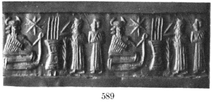 8 - Enki informs Noah & spouse of coming flood, the snake god assisted them with every preparation, from the gathering of everything to be saved, to the sealing of the Ark, to the navigation of the boat to a safe landing place