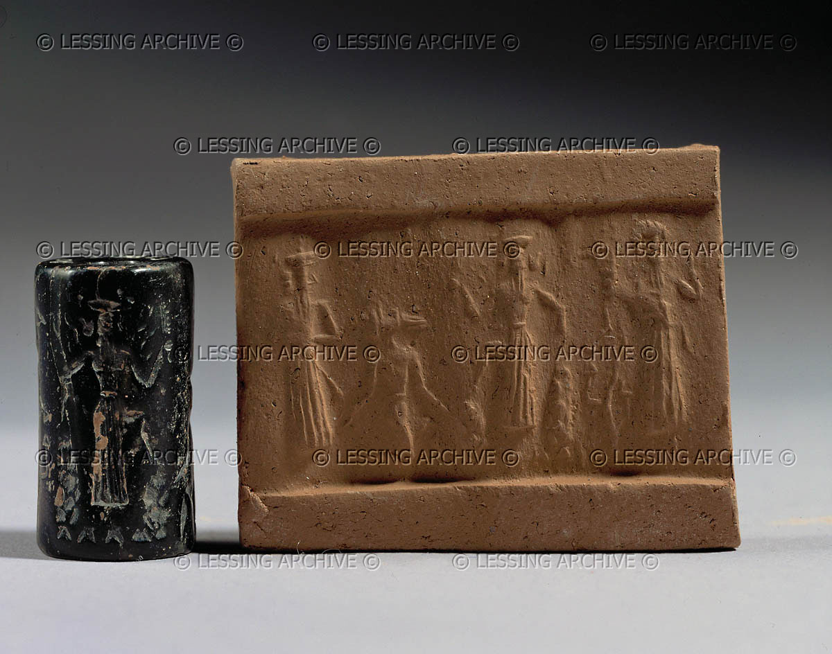 9b - Enlil scolds Enki for saving Noah from the Flood, prior to Enlil sending the Flood, the gods were made to agree that the earthlings were not to know of its coming, Enki was guilty of breaking that promise, but he claimed he only told the reed wall about it, not Noah, who must have overheard him