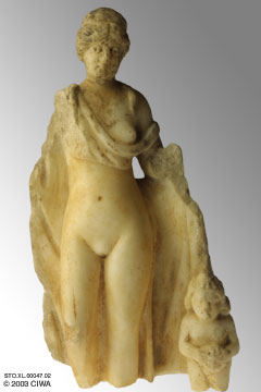 15d - Ancient Greece Goddess of Love Aphrodite & her son Eros - Cupid, as called by Rome