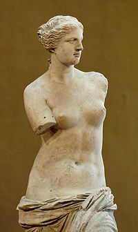 16b - Roman goddess Inanna - Venus artefact in the Louvre, Inanna didn't just dissappear after ancient Greece