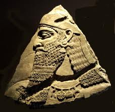 5a - Shalmaneser I of 1265-1235 B.C., these larger, smarter, & living longer mixed-breeds, were appointed by the gods to positions of authority over earthlings as kings, high-priests, high-priestesses, etc., serving the alien gods as the perfect go-between for the gods & earthlings