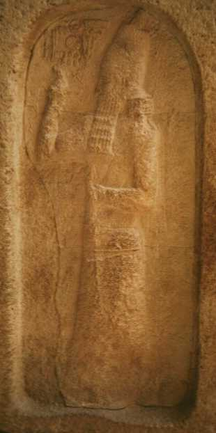 8a - King Shamash-Adad IV of 1054 - 1050 B.C., the kings were to strickly obey the orders of the gods, with the construction of temples - houses, cattle pens, cities, etc., & even with whom to attack & kill, which were usually cities not loyal to a specific god or another, if they didn't follow instructions, kings were removed or killed
