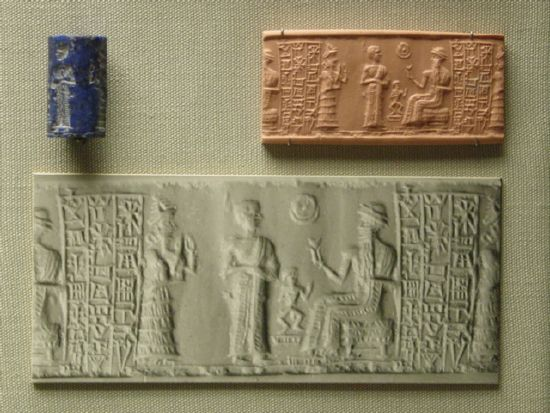 5h - Ninsun, her giant mixed-breed son-king Sinishmeanni, & Nannar-Sin, the great god of Ur, artefacts of the gods & their giant offspring kings are shamefully being destroyed by Radical Islam, attempting to eliminate ancient evidence that directly contradicts the 7th century A.D. teachings of Islam