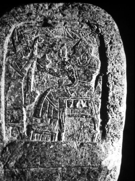 "6t - ancient Canaanite artefact of a king & the giant alien god Nannar - El, patron god of Ur, home of Abraham & his high-priest father, Terah, both the Hebrews of the time of Abraham, & Canaanites called Nannar - ""El"""