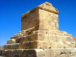 1y - Persian King Cyrus the Great Tomb, he started a family dynasty of kings of Persia