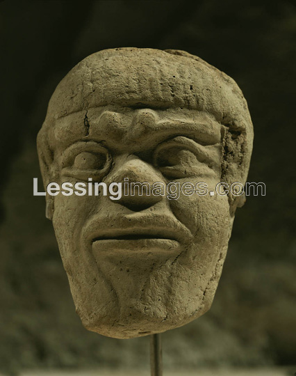 "8k - Humbaba head artefact from the ""Epic of Gilgamesh"" text, SEE TEXTS BELOW"