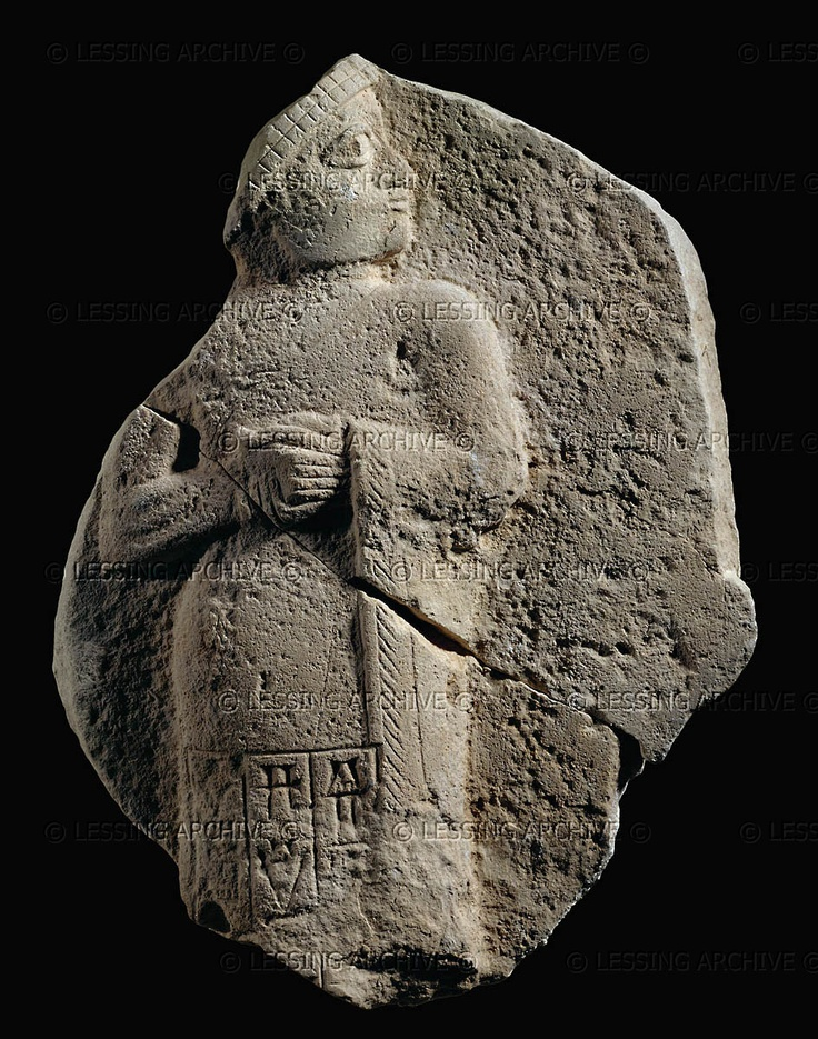 Gudea of Lagash, Ninsun's son-king ruler of earthlings, serving as the gods go-between