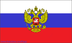 "Russian flag honoring Ninurta, the royal prince born of the ""double-seed"" Anunnaki law of succession to kingship"