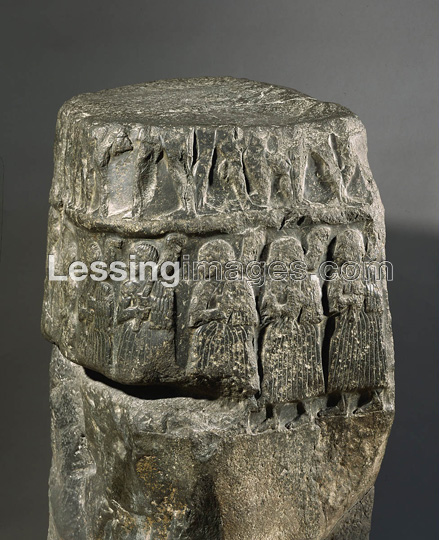 Sargon victory stele, king picked by Inanna, appointed by Enlil